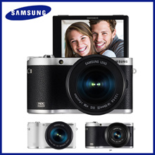 Samsung Smart Camera NX300M / 20.3MP CMOS Smart WiFi  NFC Mirrorless Digital Camera  AMOLED Touch Screen