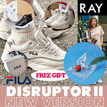 [FILA] [Buy Get Free Gift] 100% Authentic♥ FILA RAY Shoes / Sneakers /DISRUPTOR