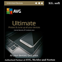 💖Authorised Partner💖AVG Ultimate for unlimited devices 2018 for 1 year or 2 year - Sales Number