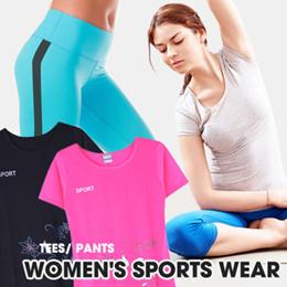 Branded Women Sport Wear - Yoga Pants - Roundneck Tshirt - Jogger Pants - Baju Olahraga