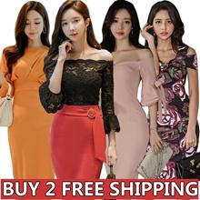 High-quality Slim Sexy skirt/evening dress/Banquet dress/Cocktail dress/High-end/Wrap dress/Pack hip