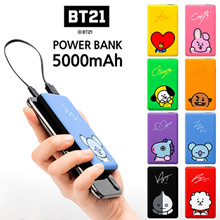 BT21 100%Authentic Portable Charger 5000mAh