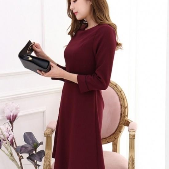 三女子モール配色ラインJ女性ワンピースTW73OP028 綿ワンピース/ 韓国ファッション