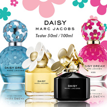 [TESTER] ► MARC JACOBS ► Daisy Series / Kiss / Dream / Forever 50ml and 100 ml