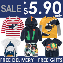 Sale ★ Kids Fashion ★ Boys Girls ★Tshirt ★ Singlets ★ Tops ★ Pants ★ TShirts ★ Clothes
