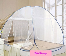 Foldable Mosquito net cot repellent tent canopy Auto Installation Ready stock / open in 3 second