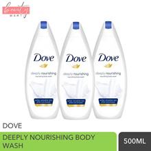 Dove Luxury Moisturizing Body Wash Gel   500ml / 750ml   8 Fragrance Type   Bundle of 3
