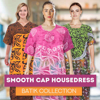 Premium Smooth Cap Housedress Batik Collections Deals for only Rp65.000 instead of Rp65.000