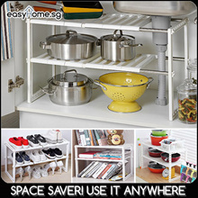 Space Arrangement Rack/ Can Tamer/ Swivel Store Organizer/ Kitchen rack