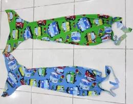 Baju Kostum Renang Mermaid / Putri Duyung Anak Motif TAYO SJ0141