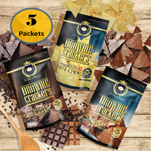★NEW AND EXCLUSIVE★ Brownie Crackers 55g x 5packs/3packs Bundle [BROWNIE HOUSE THE ORIGINAL]