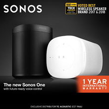 Sonos One - Smart Speaker for Streaming Music