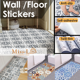 [BL]Dossi-Self-adhesive wall sticker/Floor stickers/Paper Sticker/wallpapers/wallpaper/FUNLIFE