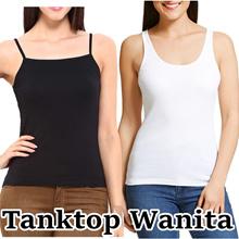 Baju Kaos Tanktop Wanita / Ukuran L s.d XXL  / Harga Grosir