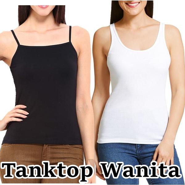 Baju Kaos Tanktop Wanita / Ukuran L s.d XXL / Harga Grosir Deals for only Rp19.900 instead of Rp19.900