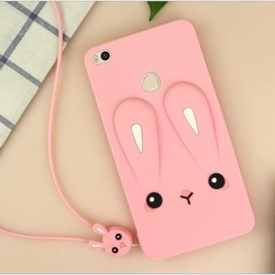 huge discount f1170 c7017 ★ Phone Case For Xiaomi Redmi Note 5A Fashoin 3D Cartoon Rabbit Protective  TPU Soft Back Cover ★