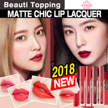 2018 New!! Ready Stock!!! Long lasting lip lacquer★Etude House★Matt Chic Lacquer [Beauti Topping]