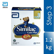 Similac Gain Plus NVE BIB - 1200G