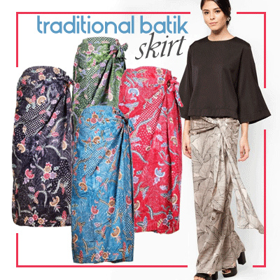 Muslim Fashionbatik Motif Skirt Can To Subordinate Kebaya Natasha