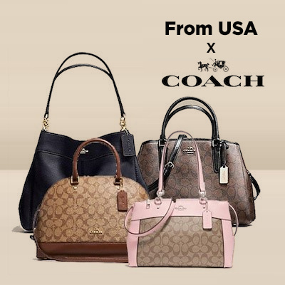 [Coach] ?Mar 15th Restock? Lowest Price Offer Coach Womens Bag/Authentic Guaranteed/Cluch/Handbags/Wallets/Luggage Deals for only S$259 instead of S$0