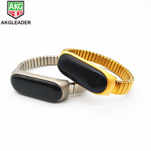 Xiao miband 4 3  Stainless Steel Elastic Watch MI band strap