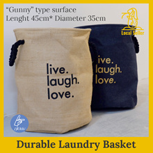 ▲ Gunny for laundry ▲ Laundry Basket/Laundry Bag. Storage solution. Laundry Rack ▲