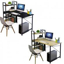Multipurpose Computer Table Study Table Writing Table With Attached Multipurpose Shelf Table (115cm
