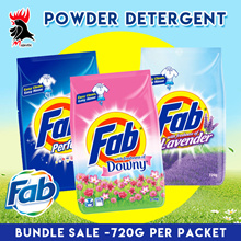 FAB Powdered Detergent [Bundle of 4 - $9.90] / [Bundle of 2 - $5.90]