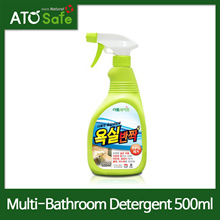 [ATOSAFE] Powerful Multi-Purpose Cleaning Detergent 500ml(Bathroom Tiles/Walls/Sinks/Stoves Cleaning Detergent/Korea)