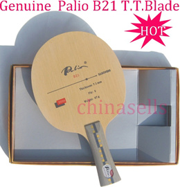 1pcs free ship Genuine T.T. table tennis blade Palio B21 full quick attack looping table tennis racquet racket