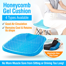 🧧 CNY SALES 🧧 Cooling Support Gel Cushion for Chairs Wheelchairs Floor Car Office