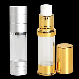 Fashion Portable Fine Mist Perfume Bottle Travel Airless Pump Bottle ( 5ML/15ML/30ML/50ML)