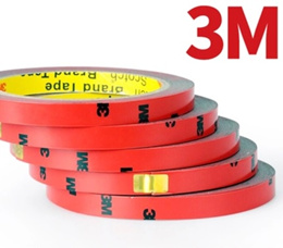 100% Genuine 3M Foam Double Side Tape with Super Strong Adhesive. 3 meters long