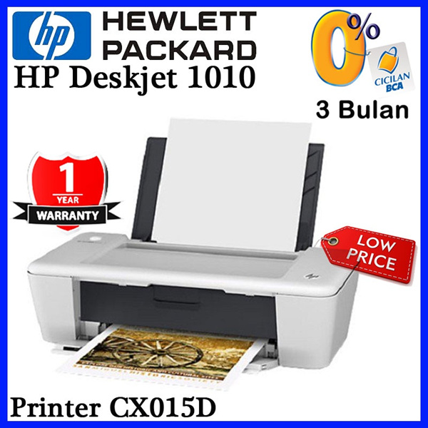 [Lower Price] HP Printer Deskjet 1010 Deals for only Rp550.000 instead of Rp550.000