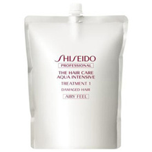 Shiseido Aqua Intensive Treatment 1 Refill (for refilling) 1800 g Smooth and light finish
