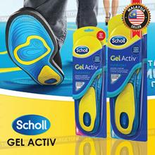 Scholl Gel Active Everyday Woman Man Insoles Comfort Shoes Heels Pads