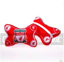 Barcelona Real Madrid Manchester United Arsenal Chelsea Liverpool AC team fans car pillow