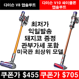 Dyson V8 Absolute Cord-Free Vacuum / Dyson Cyclone V10 Absolute Cord-Free Vacuum
