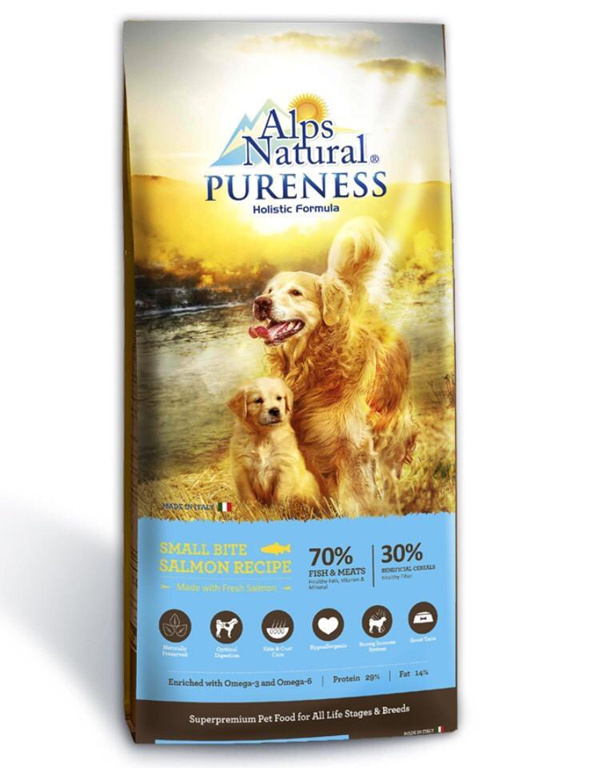 Alps Natural Pureness Small Bite Salmon Recipe Dry Dog Food 15 kg Deals for only RM209 instead of RM209