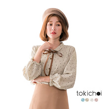 TOKICHOI - Polka Dot Blouse-172274-Winter