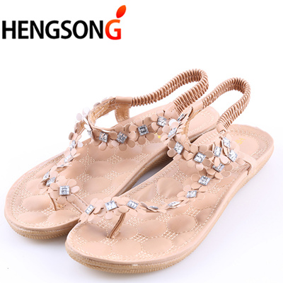 c486739f717 HENGSONG 2018 Women Sandals Summer Style Bling Bowtie Fashion Peep Toe  Jelly Shoes Sandal Flat Shoes