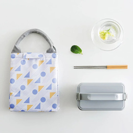 [The Flora]High Quality Lunch Bag/washable/foldable/Oxford Waterproof Canvas Tote Bag