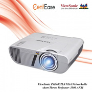 ViewSonic PJD6352LS XGA Networkable short Throw Projector- 3500 ANSI