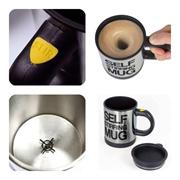 [BEST PRICE] Stainless Steel Self Stirring Mug /Gelas pengaduk otomatis 350ML