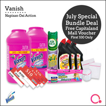[RB]【FREE $10 voucher - Total 10 items!】Vanish Napisan powder (2+1 kg) | Removes stubborn stains