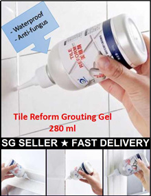 280ml Tile Reform Cleaner Grout Line Paint Renew Tile reform fix waterproof anti-fungus floor tile