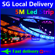 15% OFF ★ 24th Nov ★ [SG Local Delivery] 1-5 Meter 5050 SMD Led Strip Cove Light String Light