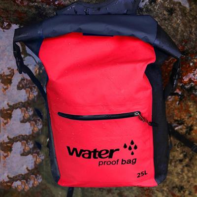 bff19a0e80ac Aricxi 25L 500D PVC Tarp Trekking Drifting Seal Rafting Bag Double Straps  Ocean Pack Waterproof Bag