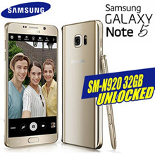 Samsung Galaxy Note5 SM-N920 32GB Smart Phone [)Refurbish = grade S]