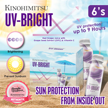 ★[LIMITED EDITION] Kinohimitsu UV-Bright 6s *9 Hrs UV Protection | Stay Fair and Bright *Beautiful ★ suitable for trip, outstation and TRY!!